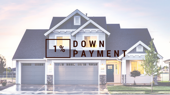 1% Down Payment
